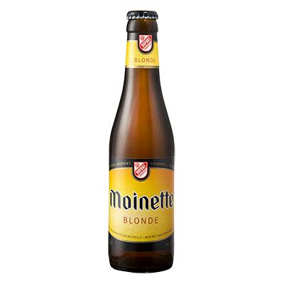 5410702000133 Moinette Blonde - 33cl Bier met nagisting in de fles
