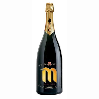 5410702000140 Moinette Blonde - 150cl Bier met nagisting in de fles