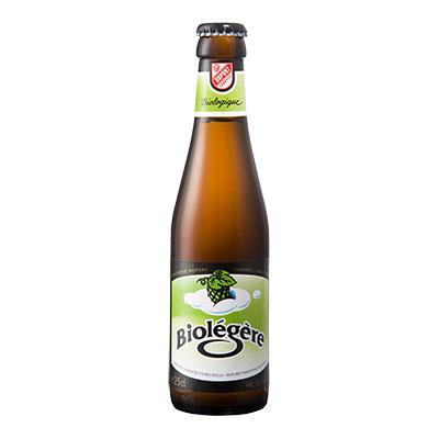 5410702000409 Biolégère<sup>1</sup> - 25cl Bière biologique refermentée en bouteille (contrôle BE-BIO-01)