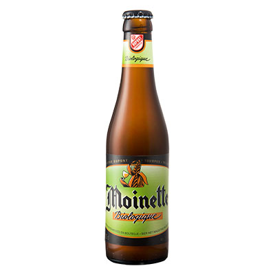 5410702000539 Moinette Bio<sup>1</sup> - 33cl Bottle conditioned organic beer (control BE-BIO-01)