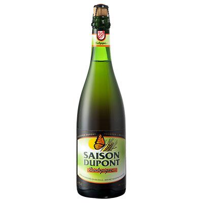 5410702000812 Saison Dupont Bio<sup>1</sup> - 75cl Bière biologique refermentée en bouteille (contrôle BE-BIO-01)