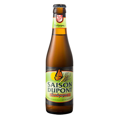 5410702000836 Saison Dupont Bio<sup>1</sup> - 33cl Biologish bier met nagisting in de fles (controle BE-BIO-01)