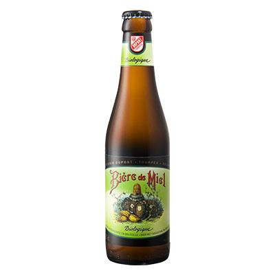 5410702001239 Bière de Miel Bio<sup>1</sup> - 33cl Biologish bier met nagisting in de fles (controle BE-BIO-01)