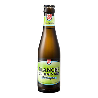 5410702001307 Blanche du Hainaut Bio<sup>1</sup> - 25cl Bottle conditioned organic beer (control BE-BIO-01)