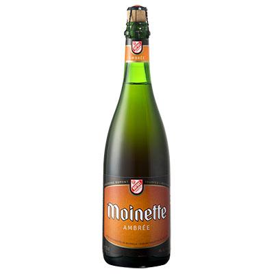5410702001390 Moinette Ambrée - 75cl Bière  refermentée en bouteille